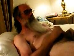 Daddy shizune naryto shooting cum on his beard