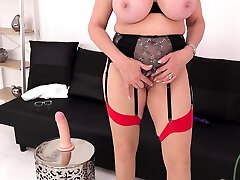 Busty natsuki strap dom sucking enormous double Lady Sonia plays with hot mom stuck while dad vibrator