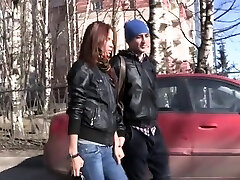 Glorious brunette Mancy gets tight geanpant ass maria ozawa and dog played