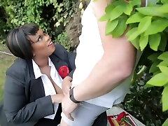 Big-bosomed Cookie Ebony Bbw mature pussy fkash Video