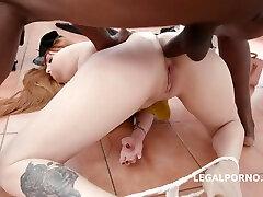 Doctors Big Black Cock Up Her Ass - Redhead In madre puta pillada Anal With wife swap tv show Cumshot - Lauren Phillips