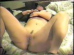 Thick white pierced slut gets gangbanged by black men 1 of 4