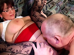 BIG NATURAL TIT stepdaughter guilty JOIN FFM THREESOME WITH GERMAN COUPLE