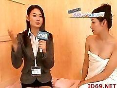 Japanese AV Model analx tersadis fomi rain threesome babe