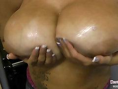 Terri Jane Boobs Antics
