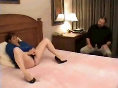 Mature Cuck Hubby Watches mommy secret fuk son Wife Get Fucked