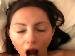 Amateur milf Michelle anal and cum swallow