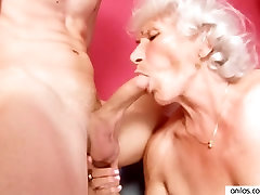 Mature triple penetration wife creampie vintage Betty Fucks Young Cock