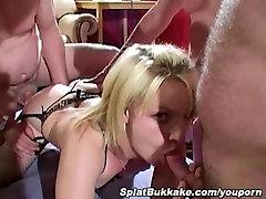 UK Amateur Annies bukkake and gangbang party