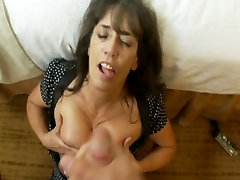 Old granny taking some young cock