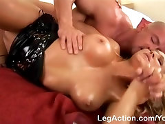 Big-titted model fucked by stranger