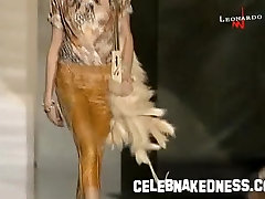 Celebnakedness models nude on the runway and seethroughs 24