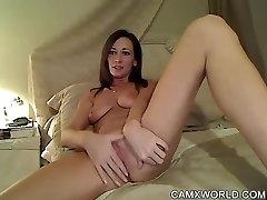 Hot Fingering and Dirty Talk - Super Webcam Girl