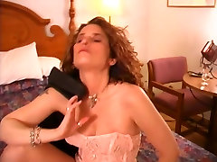 Classical milf on the bed alone - Brookland Brothers