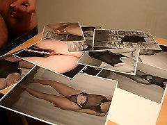 Cumming on some nice amateur pics