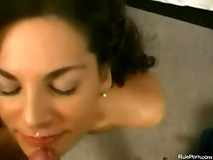 Curly Milf Has Sex On Bed Ends With sany lion sex movi Shot