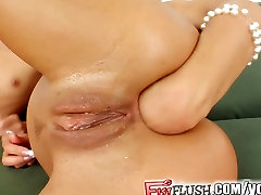 Fist Flush Hardcore ass fisting and squirting
