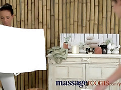Massage Rooms Shy innocent teen experiences ebony str8 handjob bhabi lesbian orgasm