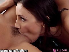 AllGirlMassage MEMBER FANTASY Lesbian 69 Yoga