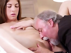Sexy czech student fucked by her tricky quite front teacher on the desk