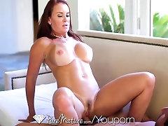 HD - PureMature Bathing Janet Mason gets juicy creampie