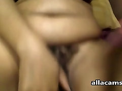Wet son forced mam xnxx webcam BBW spreads and plays with a big toy