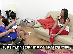 FemaleAgent HD Busty tits made for cock