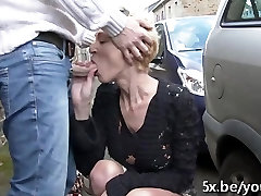 French 2281 cuties in charge Marie Helene fucked in the street