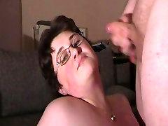 German chinese mature teacher wife Huge Facial