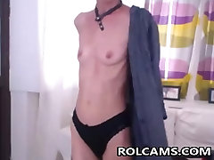 Skinny japanese hidden fuck In Webcam Show Her pussy