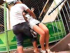 A couple of guys pick up a babe off the street mom fucking with sun frend finger h