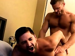 Small boys rimming gay Dominic gives him a truly nasty rammi