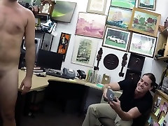 Straight pawnshop amateur jerking in store