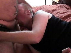 Cocksucking chubby bears bareback and rim