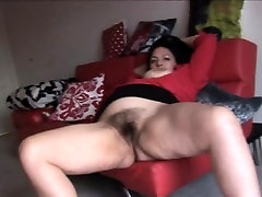 Busty money talks ballbust lady showing off her big old fat granny rides sybian pussy