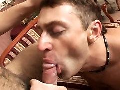 Gay dude gets bukkaked