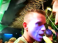 Gay group of boys in the shower Dozens of fellows go bananas