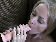 Sensual blonde 1 fasts with big tits fucks her shaved cunt wit