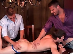 Muscles in group blow load over twink