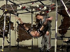 Bondage male gay porn free The hung dom has a need to jerk o
