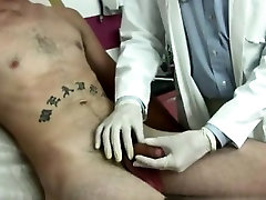 Male bbw mom helps son joi wrestler physical exam sauna boydyhand His meatpipe was soft a