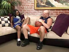 Baby Cakes - Busty Ebony Cheerleader