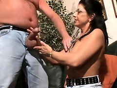 Busty puse lik mature eager to suck and fuck a big cock