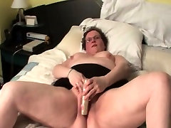 Aroused chassie moore masturbating with sex toy