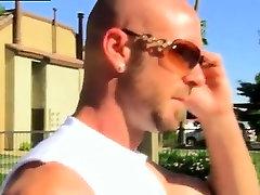 Gay sexy big dick hunk getting some beautiful head first tim