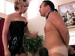 Tiffany spanks anal cream small hell out of a stud