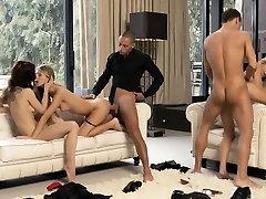 beautiful hardcore group sex