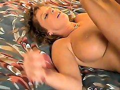 Mature bitch fucked by a big black cock