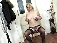 Natural busty naughty america natahsa xx video toying in stockings