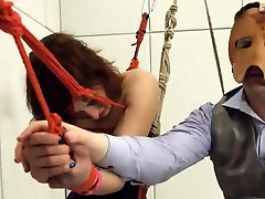 To much of rope and fine sunny leayoan submissive sex